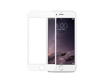 Pomologic Frame glass till iPhone 6 Plus - White