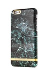 R&F för iPhone 5/5S/SE Green Marble Glossy