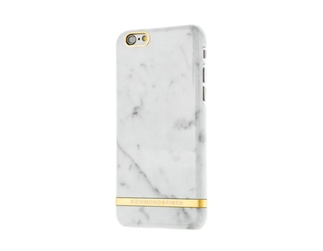 R&F för iPhone 6/6s - Carrara Marble White