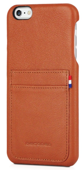 Decoded - Leather Back Cover för iPhone 6/6S Plus - Brun