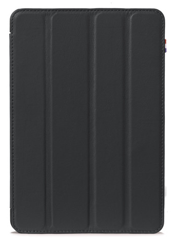 Decoded - Leather Slim Cover för iPad Mini 4 - Svart