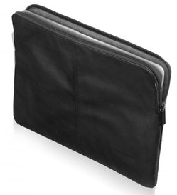 "Decoded - Leather Slim Sleeve 12"" - Svart"