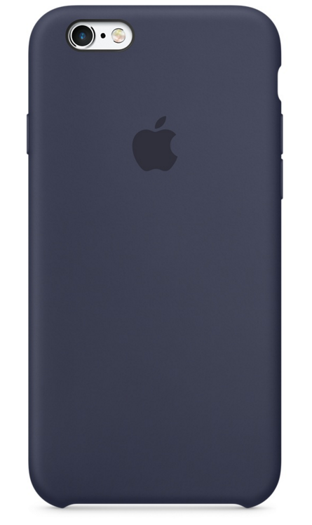 Apple iPhone 6s Silicone Case - Midnattsblå