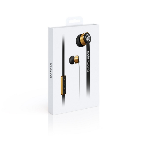Sudio - Klang Wired Earphones - Black