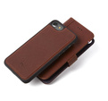 Decoded - 2 in 1 Leather Wallet Case Magnet för iPhone 7 - Brun