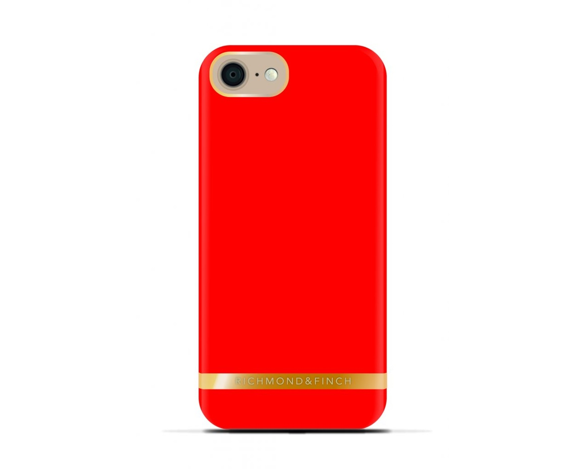 R&F för iPhone 6/6s - Classic Satin Lipstick Red