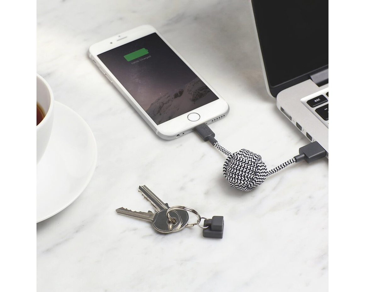 Native Union Key Cable - Zebra
