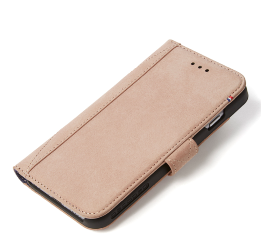 Decoded - Leather Wallet Case Magnet för iPhone 7 - Rose