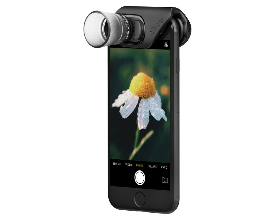 Olloclip Macro Pro Lens for iPhone 7/7 Plus - Svart