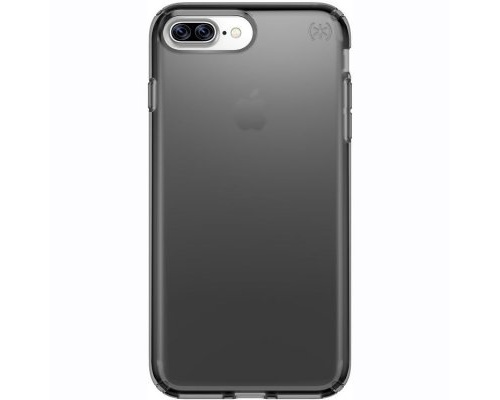 Speck Presidio Clear for iPhone 7 Plus - Onyx Black Matte