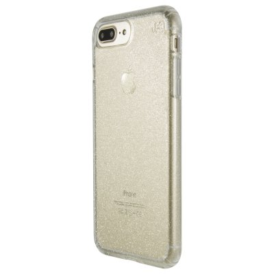 Speck Presidio Clear + Glitter for iPhone 7 Plus - Gold