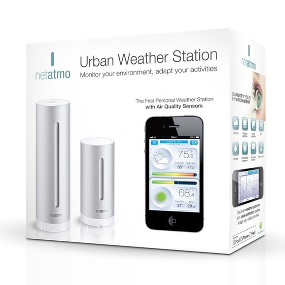 Netatmo Urban Weather Station Extra Sensor