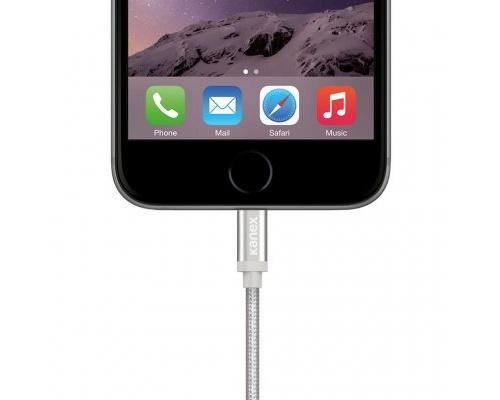 Kanex Premium Lightning / USB ladd- och synkkabel 1,2m - Space Grey