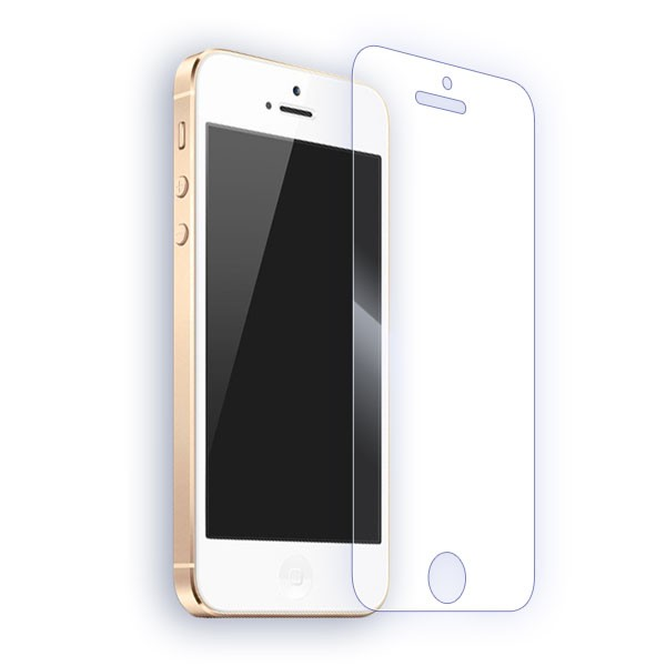 Pomologic - Clear Tempered Glass Screen Protector iPhone 5/5S/SE