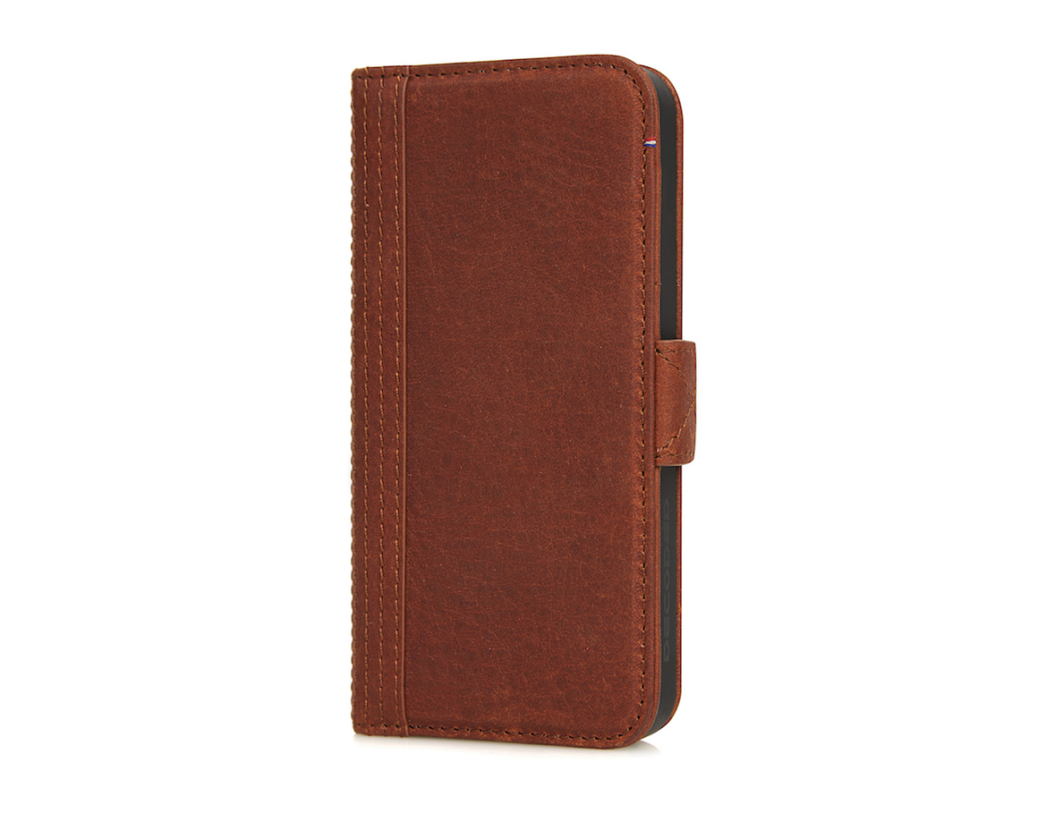 Decoded - Leather Wallet Case Magnet för iPhone 5/5S/SE