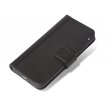 Decoded- Leather Wallet Case Magnet för iPhone X Black