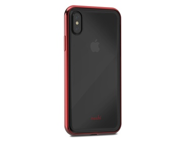 Moshi - Vitros för iPhone X Crimson Red