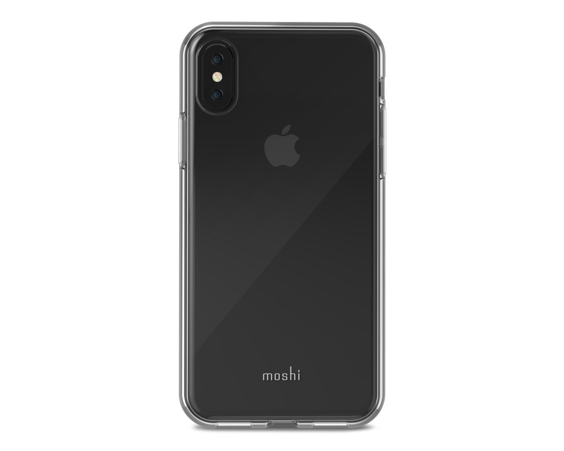 Moshi - Vitros för iPhone X Clear