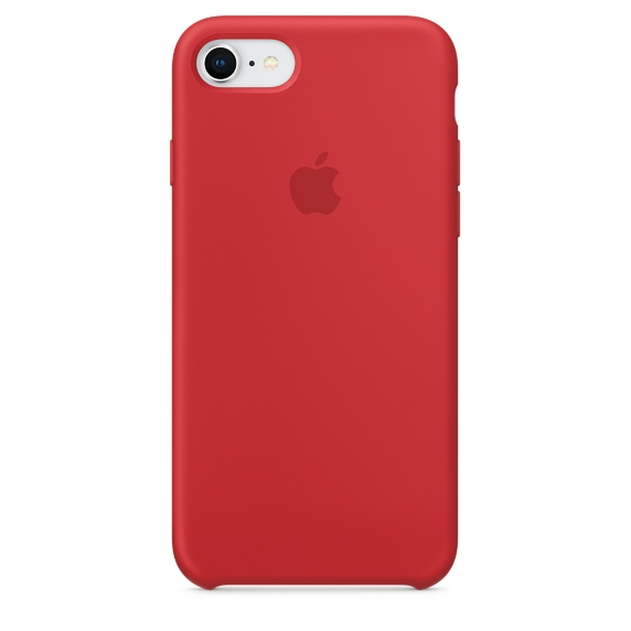 Apple iPhone 8/7 Silikonskal - (PRODUCT)RED