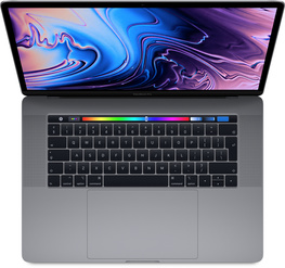 "MacBook Pro 13"" med Touch Bar: 2.3GHz/Intel Core i5/256GB - Rymdgrå"
