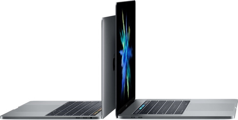 "MacBook Pro 15"" med Touch Bar i7 2.6GHz/16GB/256GB/Radeon Pro 450 2GB - Rymdgrå"