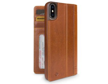 Twelve South Journal för iPhone X/XS - Cognac