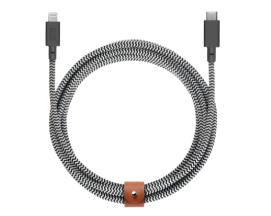 Native Union Belt Cable USB-C till Lightning 1.2m