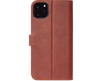 Decoded Full Grain Leather Detachable Wallet för iPhone 11 Pro Brun
