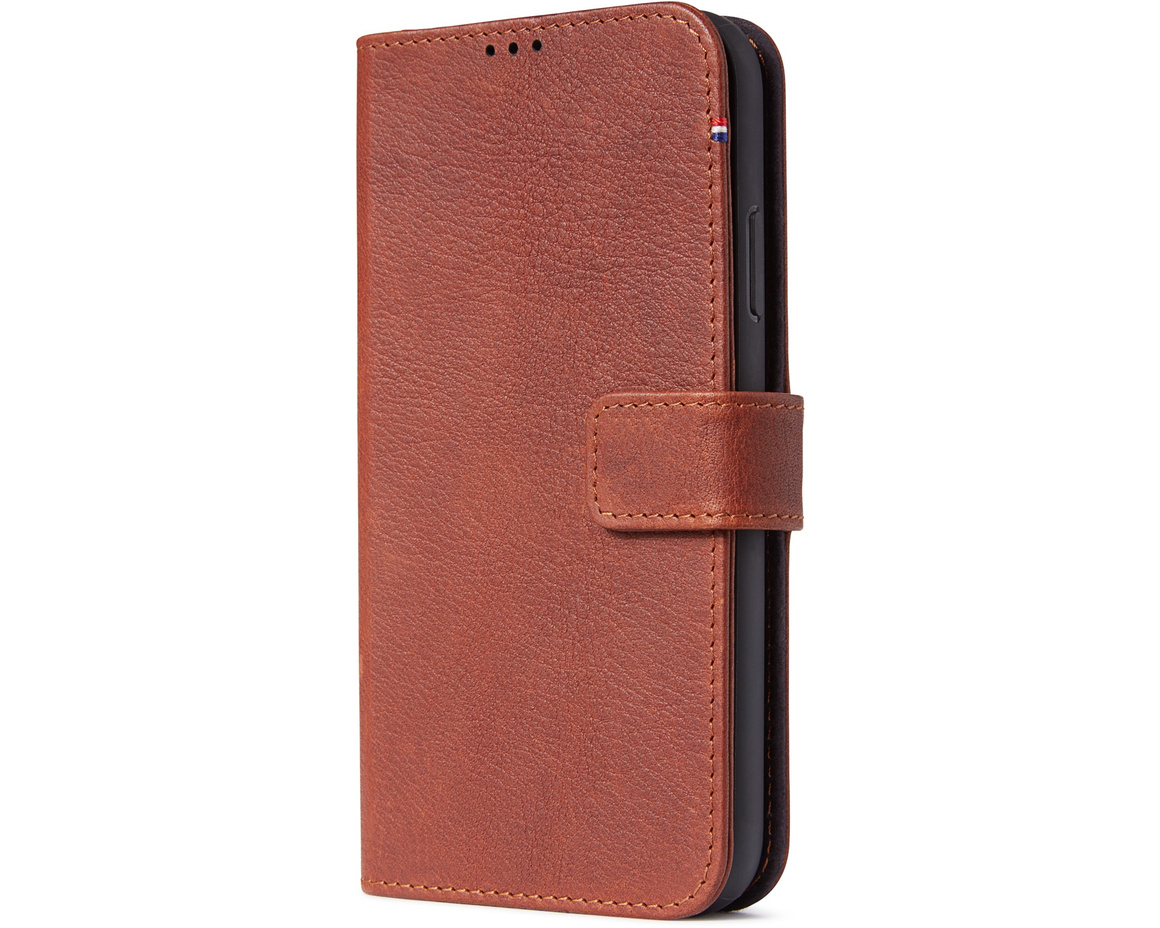 Decoded Full Grain Leather Detachable Wallet för iPhone 11 - Brun