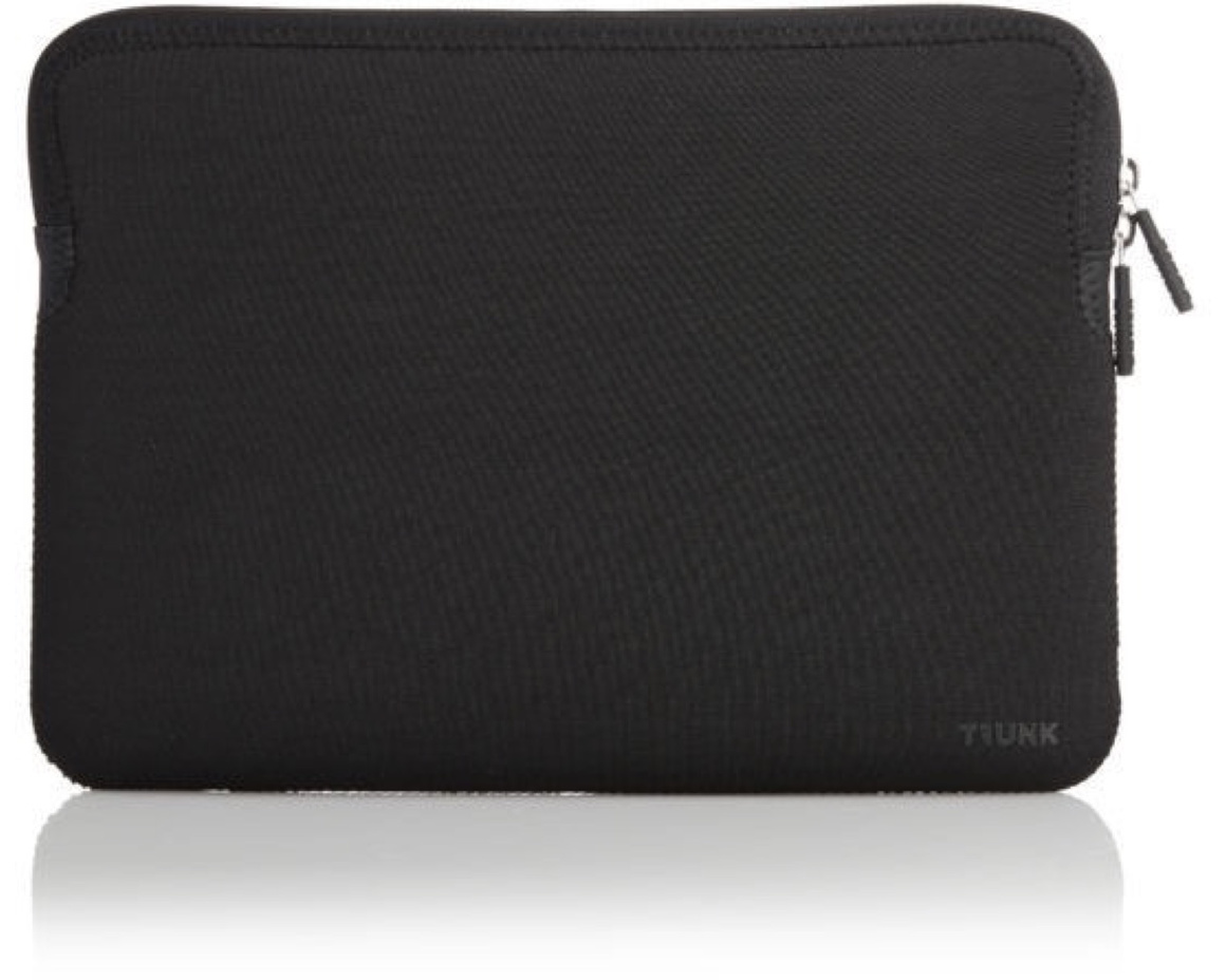 "Trunk Sleeve för Macbook Air/Pro 13"" Svart"