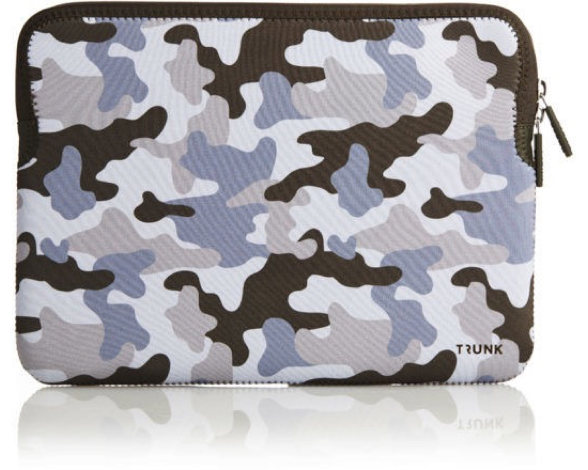 "Trunk Sleeve för Macbook Air/Pro 13"" Camouflage"