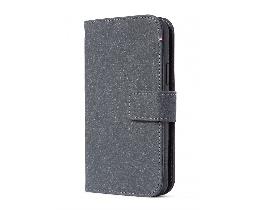 Decoded Recycled Leather Detachable Wallet för iPhone 11 Pro Max - Antrazite