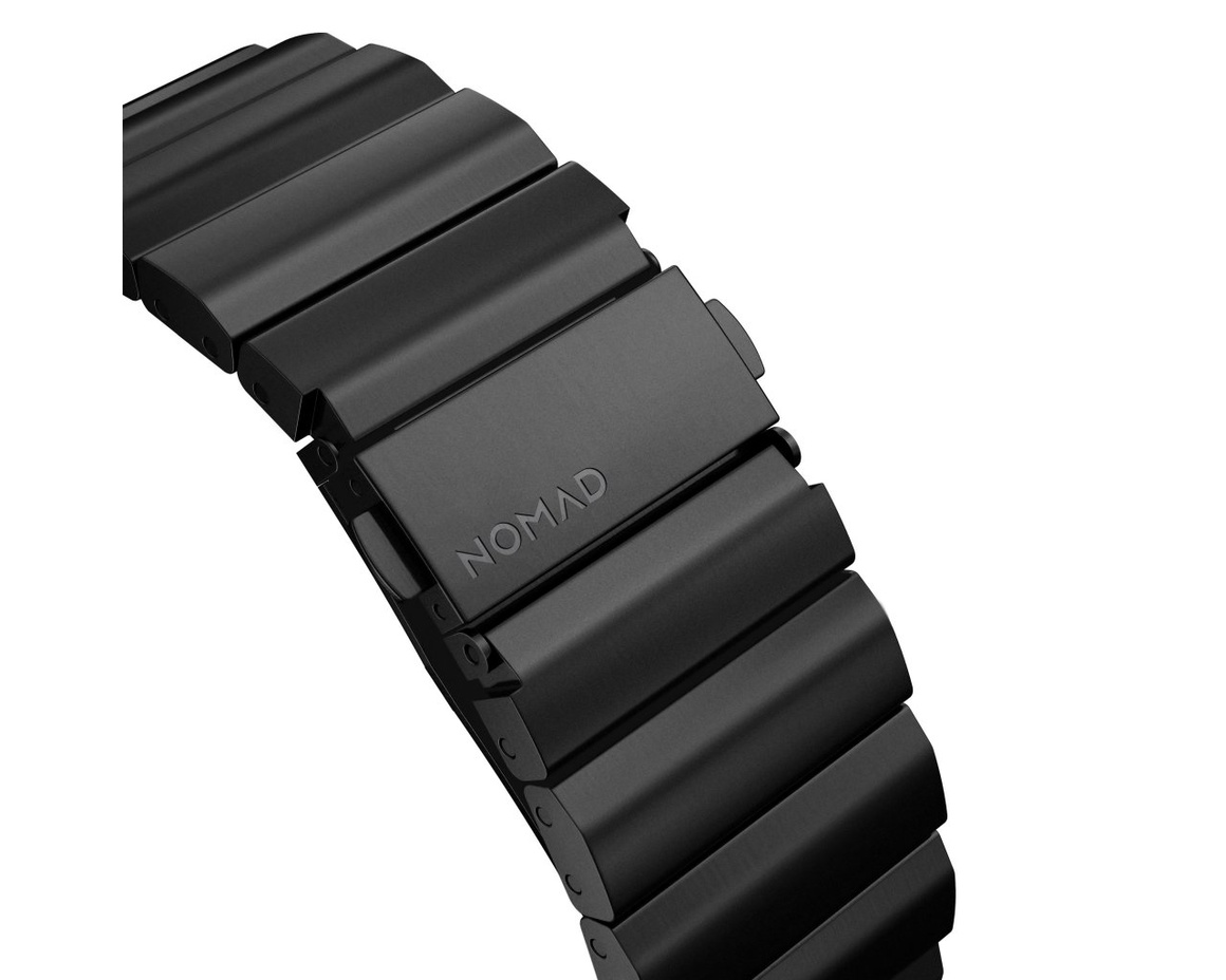 Nomad - Steel Strap - 44mm/42mm - Steel - Black Hardware