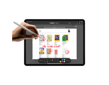 Apple iPad Pro 12.9 (2020) Wi-Fi + Cellular 1TB - Rymdgrå