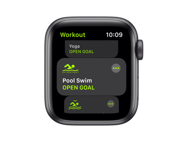 Apple Watch SE GPS 40mm Aluminiumboett i Rymdgrått med Svart Sportband - Regular
