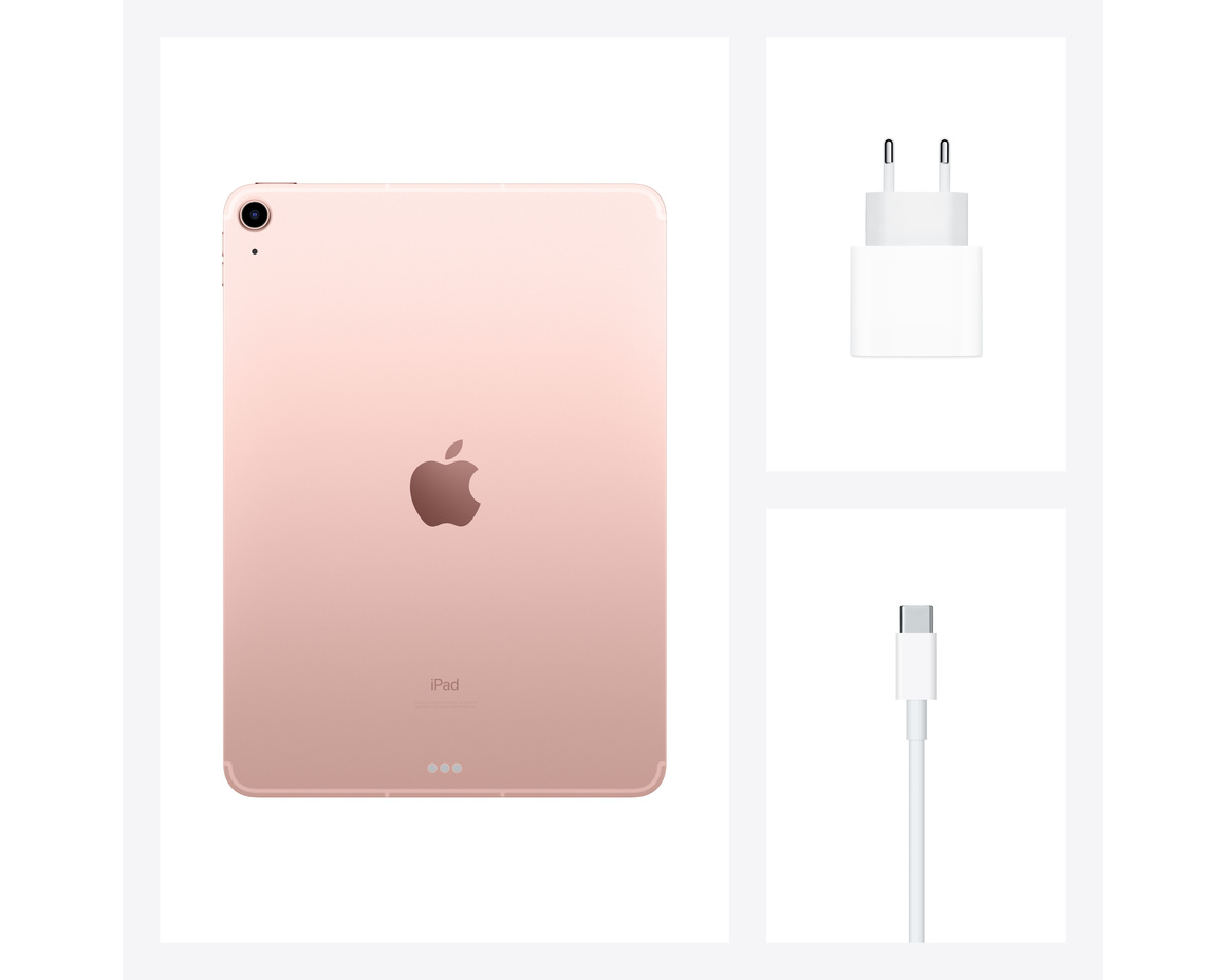 iPad Air 2020 WiFi + Cellular 256GB - Roséguld
