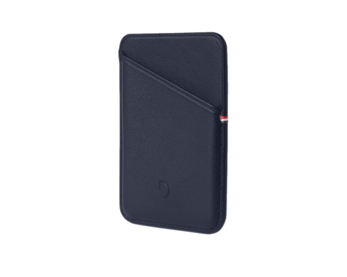 Decoded MagSafe Card Sleeve Navy