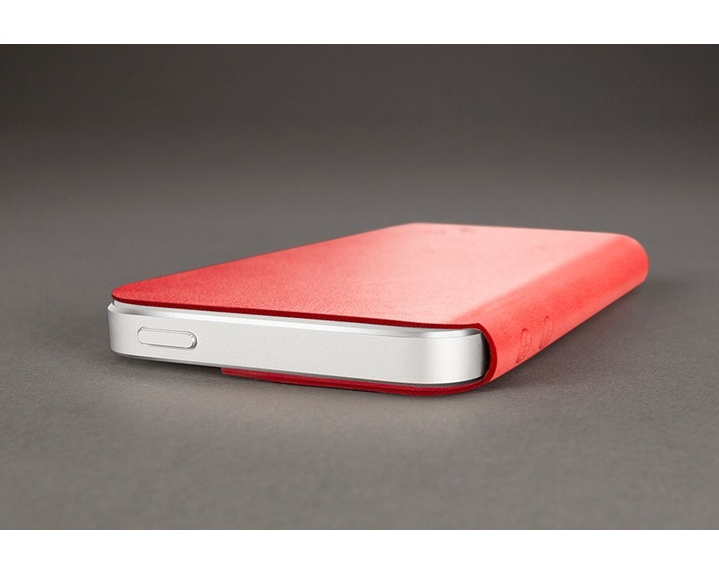 Twelve South SurfacePad fodral för iPhone 5 - Röd